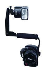 New Quick-Flip Flash Bracket Mount Light Shoe Holder for DSLR Camera &Speedlight