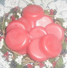 24 PINK BABY POWDER Wax Tarts Strongly Scented Handmade Candle Wax Melts WAFERS