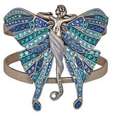 NEW KIRKS FOLLY ISABELLA BUTTERFLY  CUFF BRACELET  ANTIQUE SILVERTONE