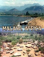 Africa - MALAWI - Travel Souvenir Flexible Fridge Magnet