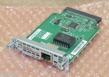 Cisco WIC-1B-S/T V3 Single Port ISDN WAN Interface Module Card