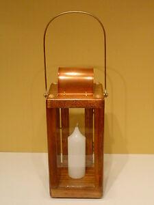 Candle Lantern ~ Royal Rangers ~ Brass & Copper Hardwear ~ Early American * New!