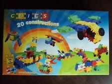 CLICS 20 Construction Bausteine Stecksteine NEU/OVP Spielzeugbausteine