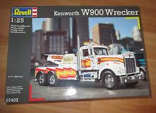 Kennworth W 900 Wrecker Lkw Abschlepper Revell 07402 Bausatz Kit in 1:25