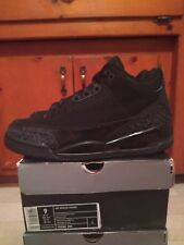 Jordan 3 Black Cat Size 9 DS