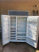 sub zero refrigerator 48 Stainless Steel very good condition