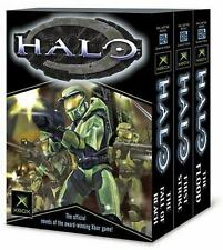 Halo, Books 1-3 The Flood; First Strike; The Fall of Reach