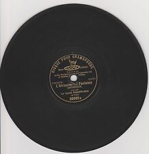 RARE 7 inches G&T 78rpm RECORD Paris LA GARDE REPUBLICAINE L´Africaine MEYERBEER