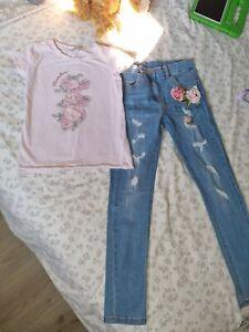 Girls Monnalisa Outfit Age 10