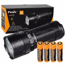 Fenix FD65 3800 Lumens Focusable LED Flashlight, 4x 2600mAh 18650 Batteries