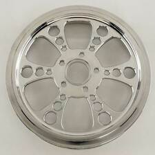 """Ultima Polished Kool Kat Pulley 1-1/8"""" Wide, 65 Tooth 99'- Earlier & 00'- Later"""
