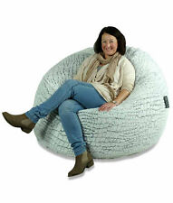NEW Stone Fur Bean Bag (Extra Large)