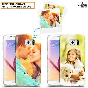 Custodia Cover Morbida Slim Personalizzata Foto Per Samsung Galaxy Vari Modelli