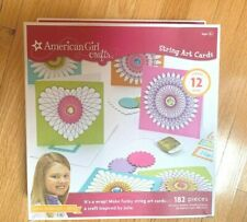 American Girl Crafts - String Art Cards / Creates 12 Cards