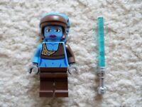 LEGO Star Wars Clone Wars - Rare Jedi Aayla Secura Minifig w/ Saber - Excellent