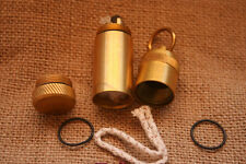 Handmade Replica WWII German Army Trench Petrol Lighter w/solid brass capsule