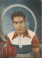 El Grafico Magazine Luciano Montero Spanish Cyclist On Cover 1940