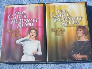 THE CAROL BURNETT SHOW - ONE MORE TIME & THIS TIME TOGETHER - 2 X NEW DVD SETS