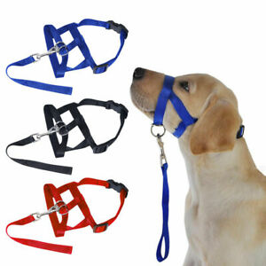 Gentle Leader Dog Puppy Head Collar Stops Pulling Training Aid Size S M L XL XXL