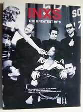 INXS - THE GREATEST HITS - PIANO, VOIX, GUITARE, PAROLES - WISE PUBLICATIONS -