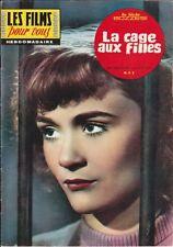 Les Films pour Vous N° 241/1961 - La Cage aux Filles, D. Delorme N. Roquevert