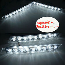 9 led Daytime Running Light DRL Daylight Kit Fog Lamp Day Lights Buick Cadillac