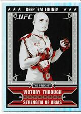 BJ Penn 2010 Topps UFC Main Event Propaganda Insert Card # MP3