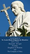 St Louis de Montfort Prayer CARD (wallet size)