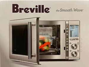Breville BMO850BSS1BUC1 the Smooth Wave™ Microwave 110 Volts