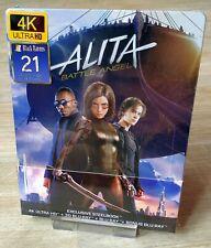 Alita Battle Angel Black Barons Filmarena Steelbook 4K/3D/2D Blu-ray New Sealed