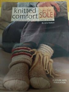 Knitted Comfort  For The Sole Book, 22 Innovative Design s For Socks Slippers...