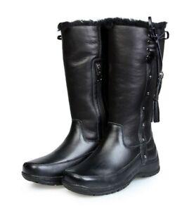 """Mubo Australia Damen Lammfellstiefel Winterstiefel Boots """"Sienna black"""""""