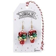 """Roman 1.5"""" Jingle Bell Earrings (12743)"""