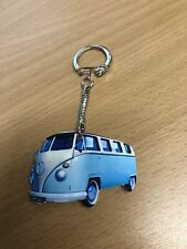 LIGHT BLUE VW CAMPERVAN KEYRING NEW GIFT T5 T6 T4