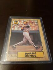 1987 O-Pee-Chee OPC MLB Pirates Barry Bonds #320 Rookie Card-Great Shape 🔥🔥🔥