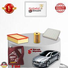 KIT TAGLIANDO FILTRI + OLIO JAGUAR XJ X351 3.0 V6 DIESEL 202KW 275CV DAL 2013 ->