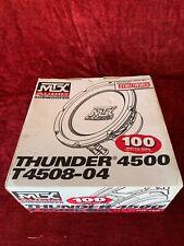 "MTX Audio Thunder 4500 Model No.T4508-04 8"" Subwoofer / 100 Watts RMS / BNIB"