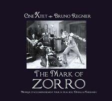 CD NEUF scellé- BRUNO REGNIER - THE MARK OF ZORRO / Edition Digipack -C38