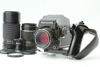【NEAR MINT++】 Mamiya M645 1000S + Sekor C 80mm ,150mm , 200mm 3 Lens From JAPAN