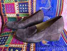 Rockport Brown Suede Wedge Size 5