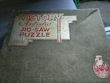 Vintage victory wooden jigsaw puzzles