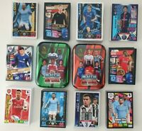 2018 to 2020 UEFA Champions / EPL Soccer Cards Topps Panini - 300 cards + 2 tins