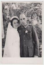 (F1036+) Orig. Foto Wehrmacht-Soldat, Hochzeit, 1940er
