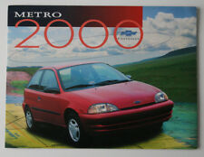 CHEVROLET METRO 2000 dealer brochure - English - Canada - ST1002000218