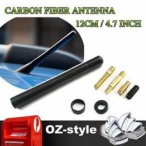 For Mitsubishi Outlander Lancer EVO 8 9 Carbon Fiber 12cm Antenna Short Aerial