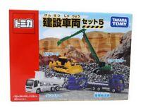 Tomica Takara Tomy Modellauto 4er Set Baufahrzeuge Raupe Kettenbagger Lkw Japan