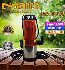 MARRO STAINLESS STEEL CASING SUBMERSIBLE PUMP SPA2-60/6-1.1F