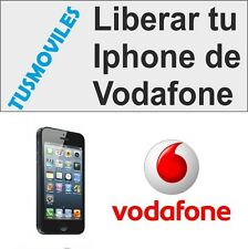 Liberar RÁPIDO Iphone Vodafone 6 6 Plus 5S 5C 5 4 4S 3GS 3
