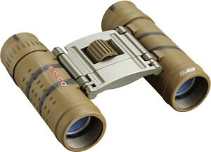 Tasco 165821B Essentials 8x21mm Roof Prism Compact Binoculars - 165821B