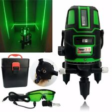 5 Lines 20 Times Green Light Laser Level 360 Degree Horizontal & Vertical Set